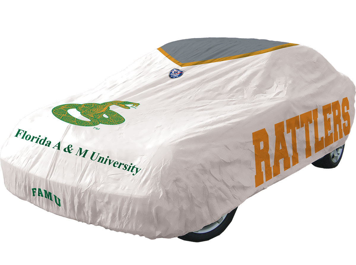 FAMU RATTLERS C3JERSEY AUTOMOTIVE CAR COVER